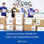 SM FOUNDATION DONATES MASKS & FACE SHIELDS TO CEBU HOSPITALS & QUARANTINE CENTERS